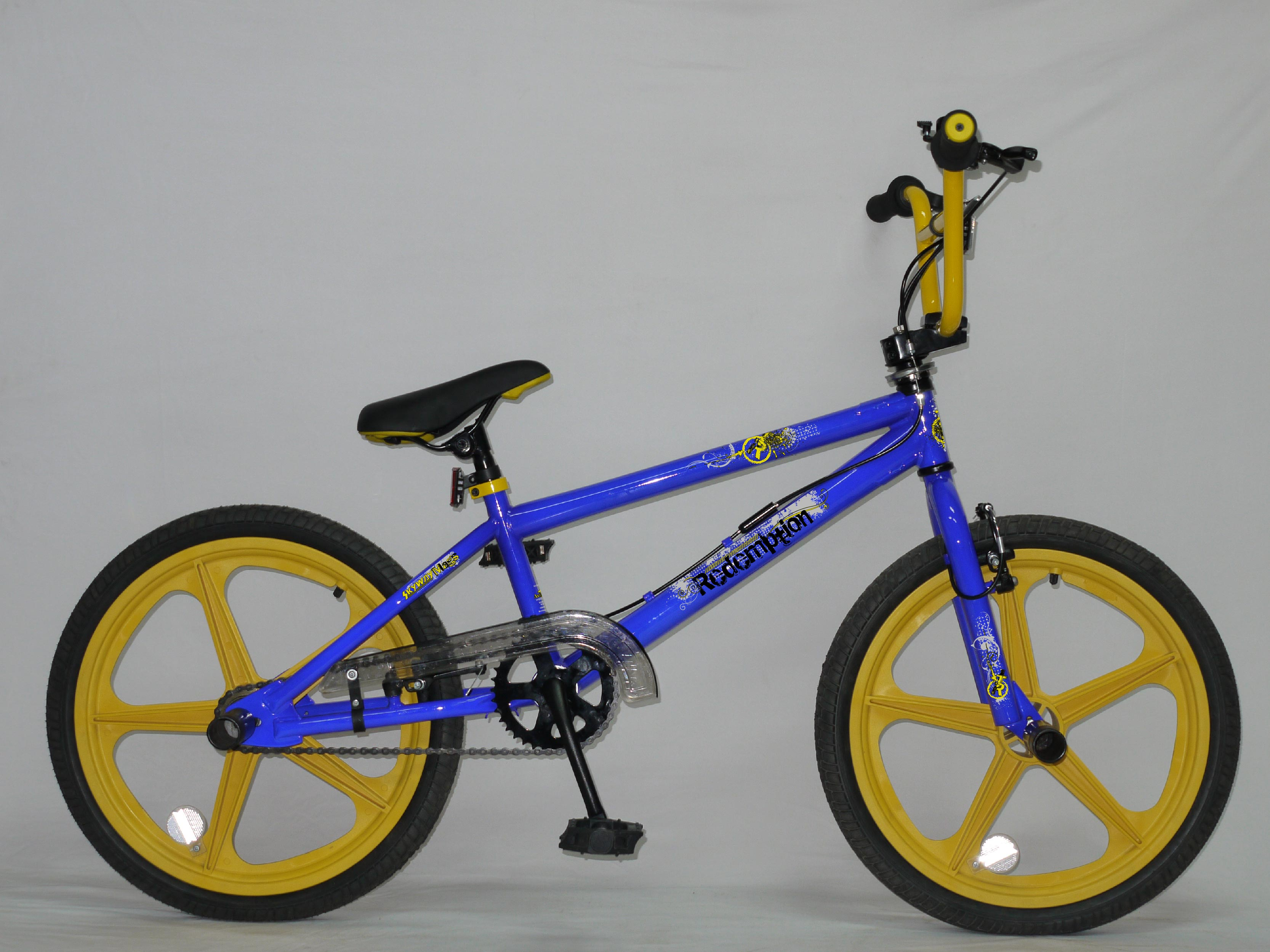 Yellow And Blue Bmx Bikes In Leeds 63